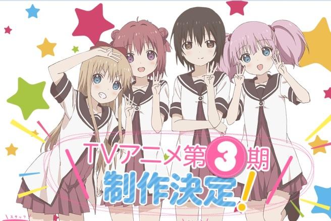 yuru yuri three 2