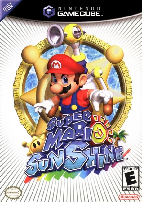 mario sunshine cover