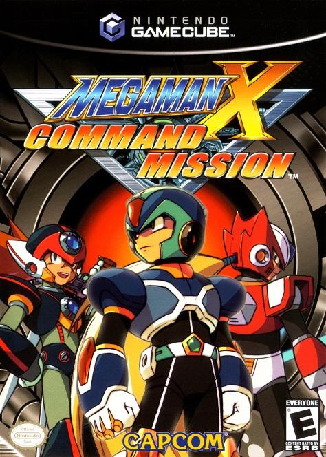 megaman x command mission cover