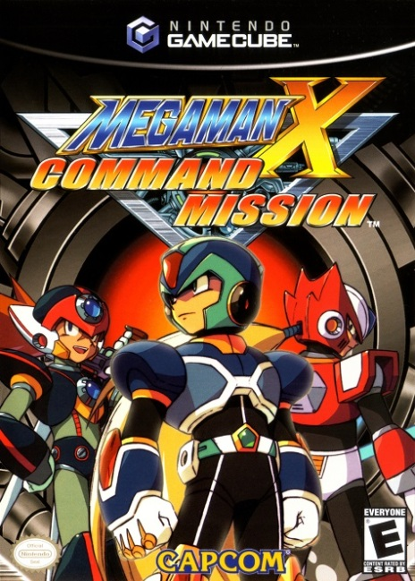 megaman x command mission cover