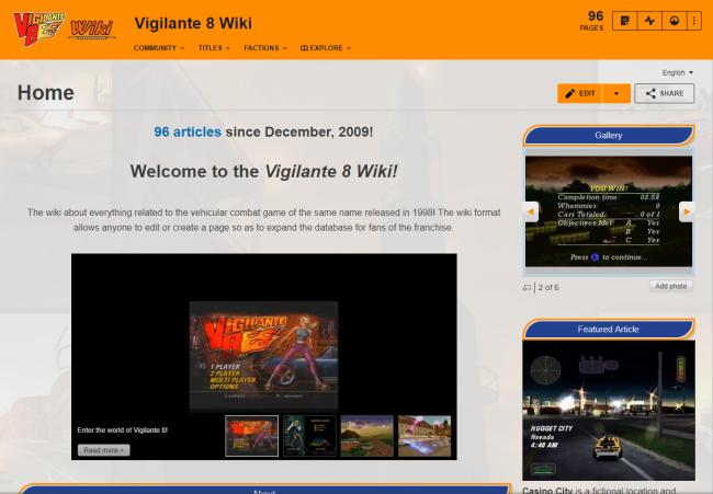 v8 wiki
