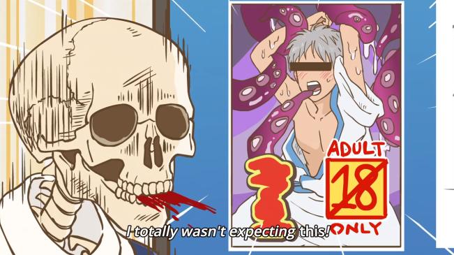 skeleton anime 3