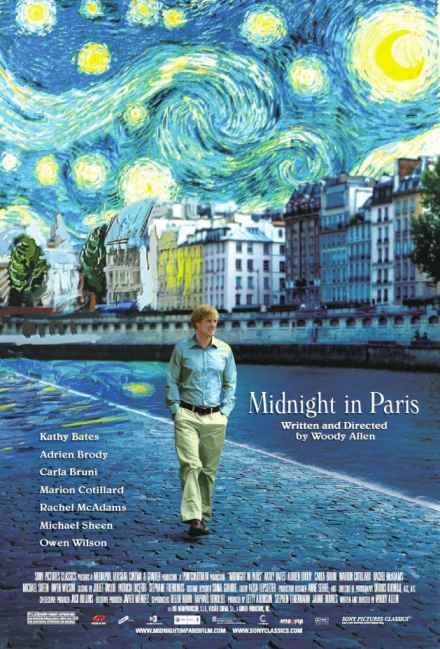 midnight in paris cover
