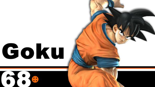 goku in smash cover